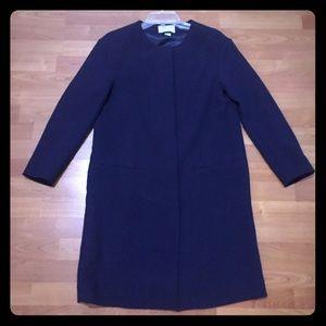 Cute professional H&M navy long jacket